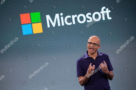 Editorial picture of Microsoft Event, New York, USA - 02 Oct 2019
