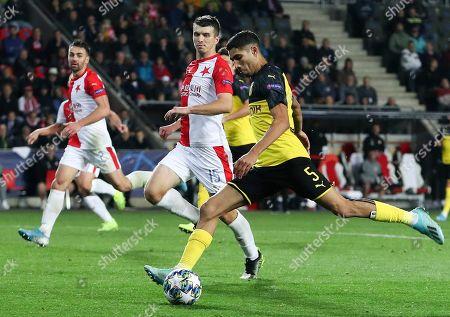 Editorial photo of Slavia Prague vs Borussia Dortmund, Czech Republic - 02 Oct 2019