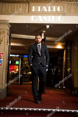 Stock Photo of Lookalike Tom Hardy in Leicester Square