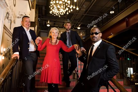 Stock Image of Lookalikes Tom Hanks with Will Smith, Helen Mirren and Tom Hardy
