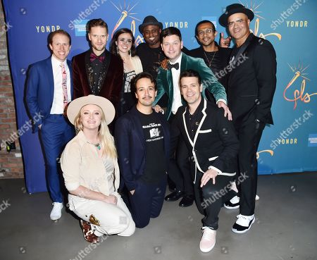 Ian Weinberger, Andrew Bancroft, Ashley Perez, Wayne Brady, Chris Sullivan, Utkarsh Ambudkar, Chris Jackson, Kaila Mullady, Lin-Manuel Miranda and Anthony Veneziale