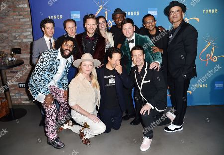 Stock Image of Thomas Kail, Daveed Diggs, Ian Weinberger, Andrew Bancroft, Ashley Perez, Wayne Brady, Chris Sullivan, Utkarsh Ambudkar, Chris Jackson, Kaila Mullady, Lin-Manuel Miranda and Anthony Veneziale