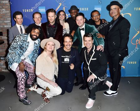 Thomas Kail, Daveed Diggs, Ian Weinberger, Andrew Bancroft, Ashley Perez, Wayne Brady, Chris Sullivan, Utkarsh Ambudkar, Chris Jackson, Kaila Mullady, Lin-Manuel Miranda and Anthony Veneziale