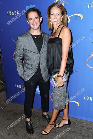 Stock Picture of Andy Blankenbuehler and Elly Blankenbuehler