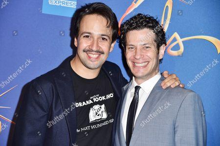 Stock Image of Lin-Manuel Miranda and Thomas Kail