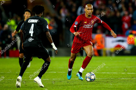 Editorial picture of Liverpool v Red Bull Salzburg, UK - 02 Oct 2019