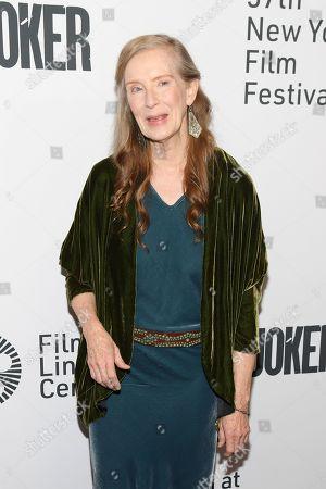Editorial image of 'Joker' film premiere, Arrivals, 57th New York Film Festival, USA - 02 Oct 2019