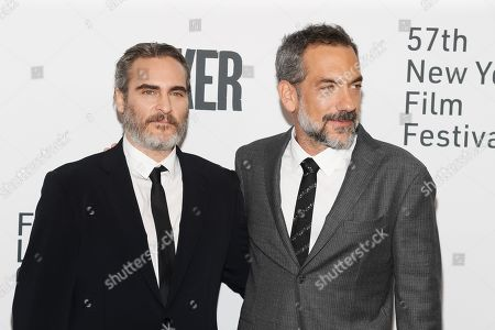 Joaquin Phoenix and Todd Phillips