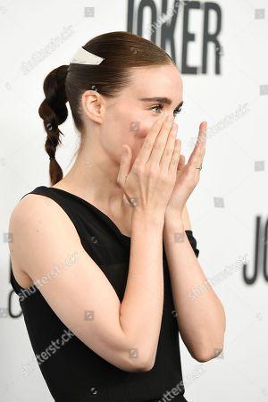Editorial picture of 'Joker' film premiere, Arrivals, 57th New York Film Festival, USA - 02 Oct 2019