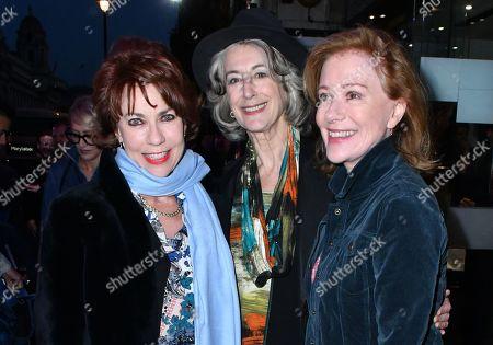 Kathy Lette, Maureen Lipman and Bernadette Robinson