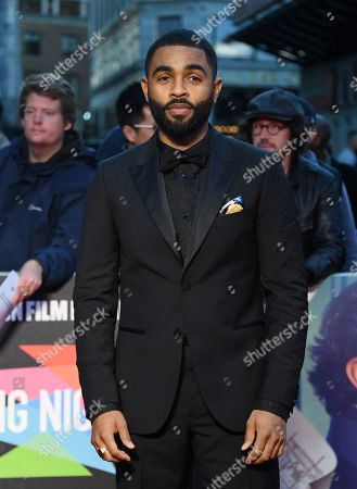 Stock Image of Anthony Welsh arrives for the European film premiere of The Personal History of David Copperfield at Leicester Square in London, Britain, 02 October 2019. The 2019 BFI London Film Festival runs from 02 to 13 October.