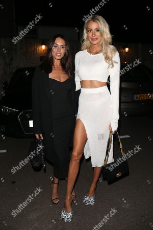 Clelia Theodorou and Olivia Attwood