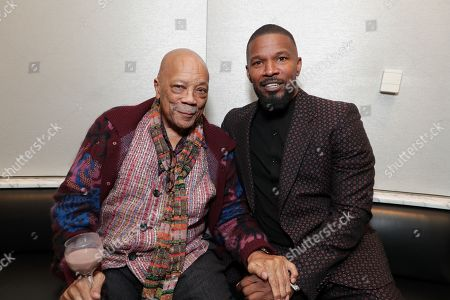Quincy Jones and Jamie Foxx