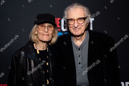Stock Photo of Margery Gray and Sheldon Harnick