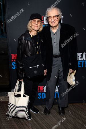 Editorial picture of 'The Great Society' play, Broadway opening night, Arrivals, New York, USA - 01 Oct 2019