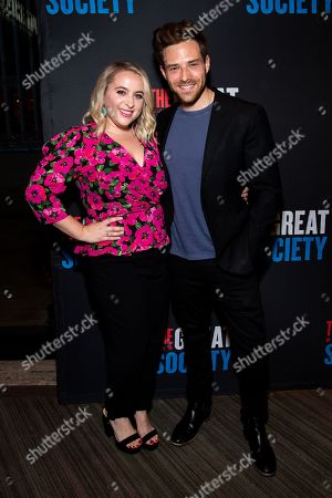 Megan Kane and Ben Rappaport