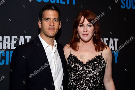 Stock Picture of Panio Gianopoulos and Molly Ringwald