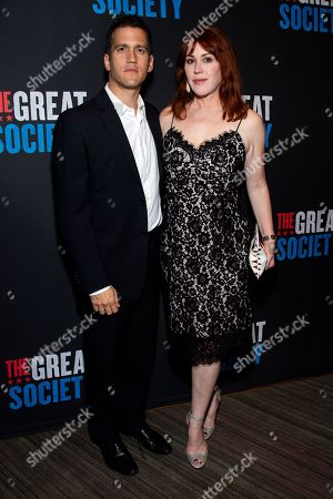 Panio Gianopoulos and Molly Ringwald
