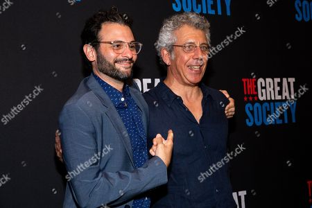 Arian Moayed and Eric Bogosian