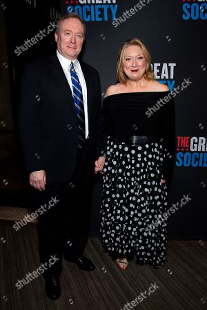 Stock Photo of Brent Langdon and Kristine Nielsen