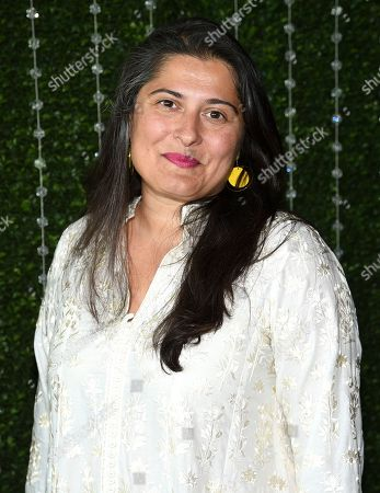 Journalist Sharmeen Obaid-Chinoy attends the Academy of Motion Picture Arts and Sciences Women's Initiative New York luncheon at the Rainbow Room, in New York
