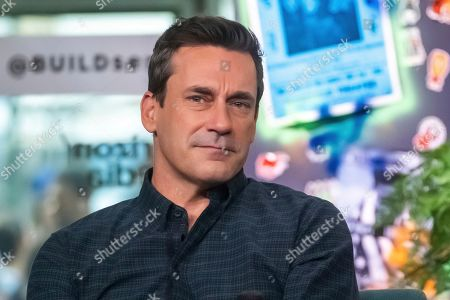 """Jon Hamm participates in the BUILD Speaker Series to discuss the film """"Lucy in th Sky"""" at BUILD Studio, in New York"""