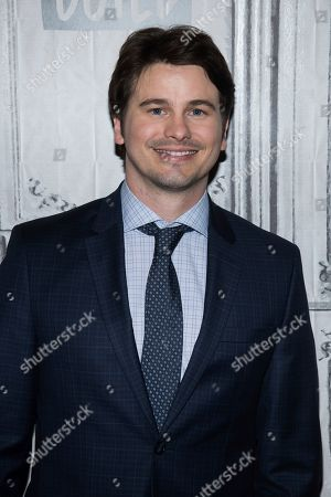 """Jason Ritter participates in the BUILD Speaker Series to discuss the television show """"Raising Dion"""" at BUILD Studio, in New York"""
