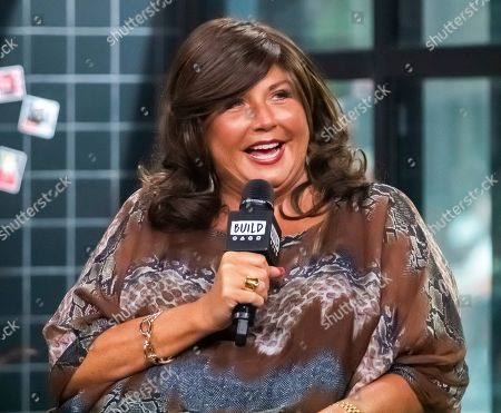 """Abby Lee Miller participates in the BUILD Speaker Series to discuss the television show """"Dance Moms"""" at BUILD Studio, in New York"""