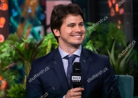 """Stock Image of Jason Ritter participates in the BUILD Speaker Series to discuss the television show """"Raising Dion"""" at BUILD Studio, in New York"""