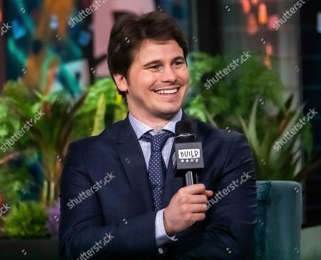 "Jason Ritter participates in the BUILD Speaker Series to discuss the television show ""Raising Dion"" at BUILD Studio, in New York"