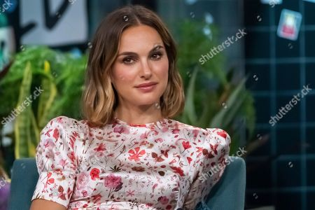 "Natalie Portman participates in the BUILD Speaker Series to discuss the film ""Lucy in th Sky"" at BUILD Studio, in New York"
