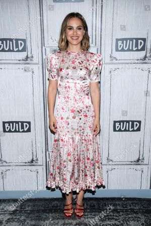 "Natalie Portman participates in the BUILD Speaker Series to discuss the film ""Lucy in the Sky"" at BUILD Studio, in New York"