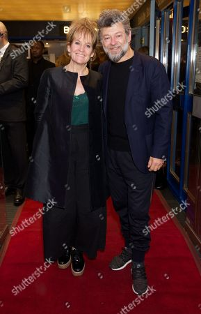 Lorraine Ashbourne & Andy Serkis