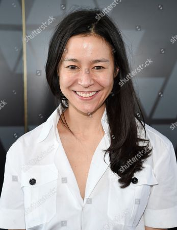 Elizabeth Chai Vasarhelyi attends the Academy of Motion Picture Arts and Sciences Women's Initiative New York luncheon at the Rainbow Room, in New York