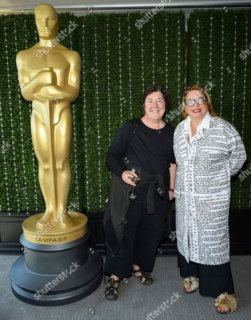 Christine Vachon, Laura Karpman. Producer Christine Vachon, left, and composer Laura Karpman attend the Academy of Motion Picture Arts and Sciences Women's Initiative New York luncheon at the Rainbow Room, in New York