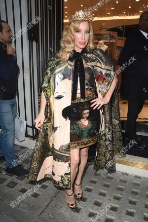 Editorial photo of Queens Alta Moda at Dolce and Gabbana, Old Bond Street, London, UK - 02 Oct 2019