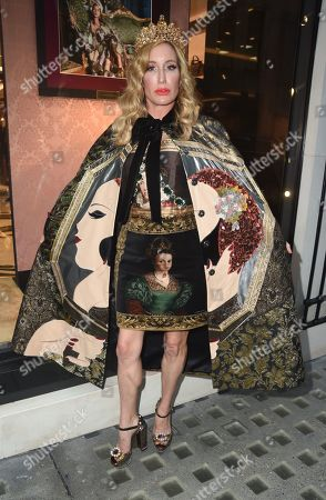 Editorial image of Queens Alta Moda at Dolce and Gabbana, Old Bond Street, London, UK - 02 Oct 2019