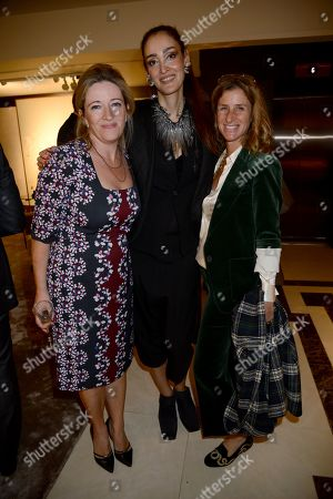 Claire Casey, Yassmin Ghandehari and Eliane Fattal