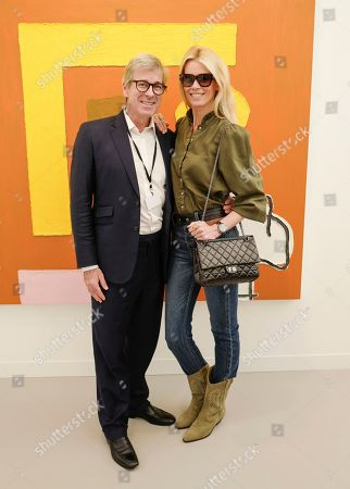 Stock Photo of Timothy Taylor and Claudia Schiffer