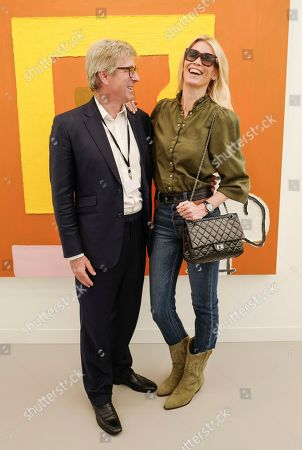 Stock Picture of Timothy Taylor and Claudia Schiffer