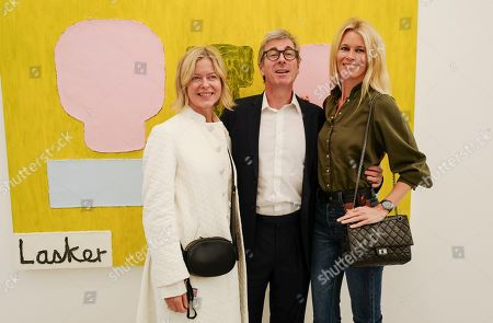 Lady Helen Taylor, Timothy Taylor and Claudia Schiffer