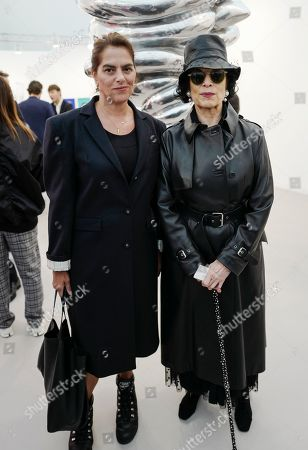 Tracey Emin and Bianca Jagger