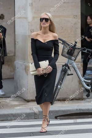 Editorial image of Street Style, Spring Summer 2020, Paris Fashion Week, France - 30 Sep 2019