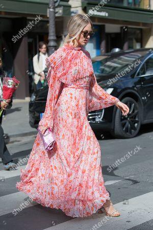 Editorial photo of Street Style, Spring Summer 2020, Paris Fashion Week, France - 30 Sep 2019