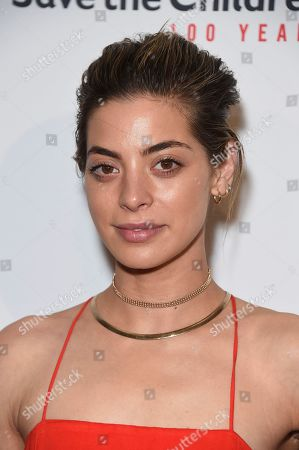 "Gia Mantegna arrives at the Save the Children ""Centennial Celebration: Once in a Lifetime"" event, at The Beverly Hilton Hotel in Beverly Hills, Calif"