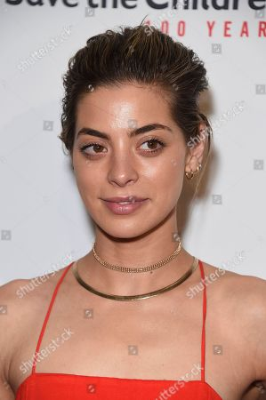 "Stock Image of Gia Mantegna arrives at the Save the Children ""Centennial Celebration: Once in a Lifetime"" event, at The Beverly Hilton Hotel in Beverly Hills, Calif"