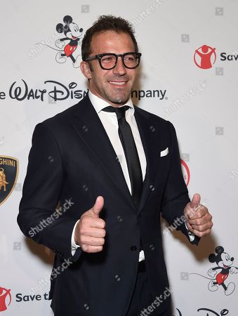 "Stock Photo of Alessandro Del Piero arrives at the Save the Children ""Centennial Celebration: Once in a Lifetime"" event, at The Beverly Hilton Hotel in Beverly Hills, Calif"