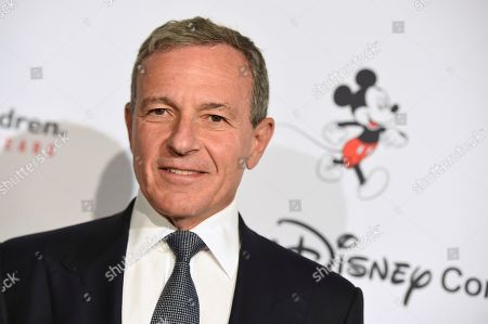 "Disney CEO Robert Iger arrives at the Save the Children ""Centennial Celebration: Once in a Lifetime"" event, at The Beverly Hilton Hotel in Beverly Hills, Calif"