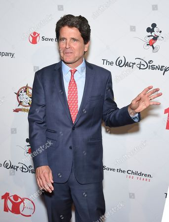 """Mark Shriver, SVP, U.S. programs and advocacy, Save the Children, arrives at the Save the Children """"Centennial Celebration: Once in a Lifetime"""" event, at The Beverly Hilton Hotel in Beverly Hills, Calif"""