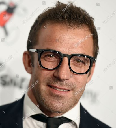 "Alessandro Del Piero arrives at the Save the Children ""Centennial Celebration: Once in a Lifetime"" event, at The Beverly Hilton Hotel in Beverly Hills, Calif"